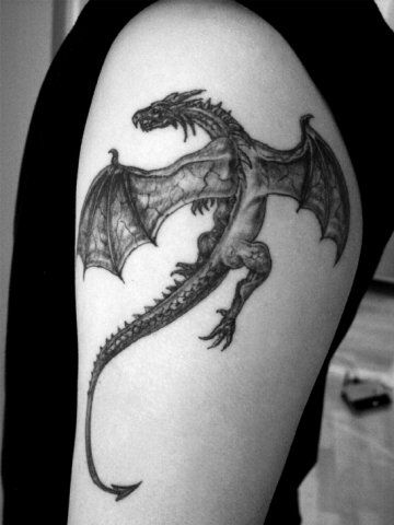 Tatouages De Petits Dragons (7)