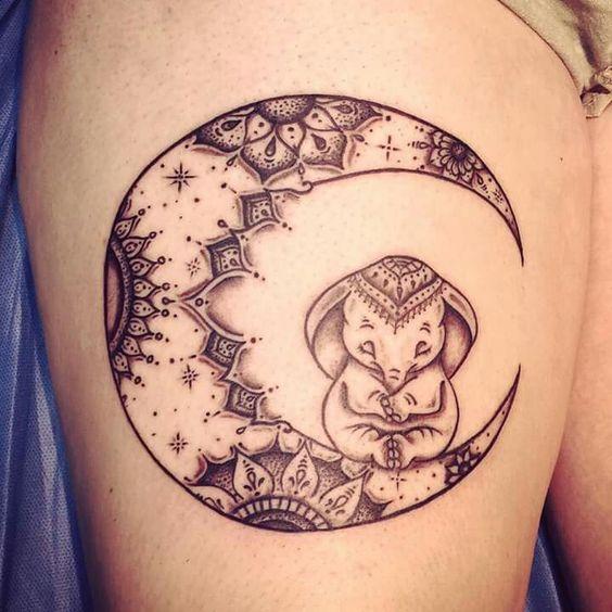 Tatouages Lune (10)