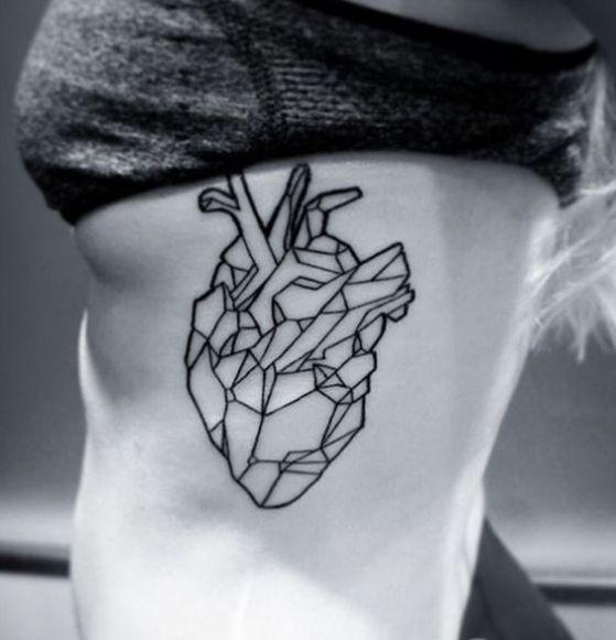Corazon De Pieda Tatuaje