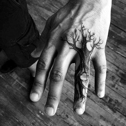 Des Tatouages Sur Les Doigts Pour Les Hommes (14)