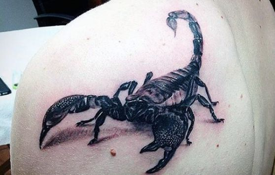 Scorpion Tattoo (2)