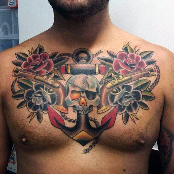 Tatouage Ancre Homme (8)