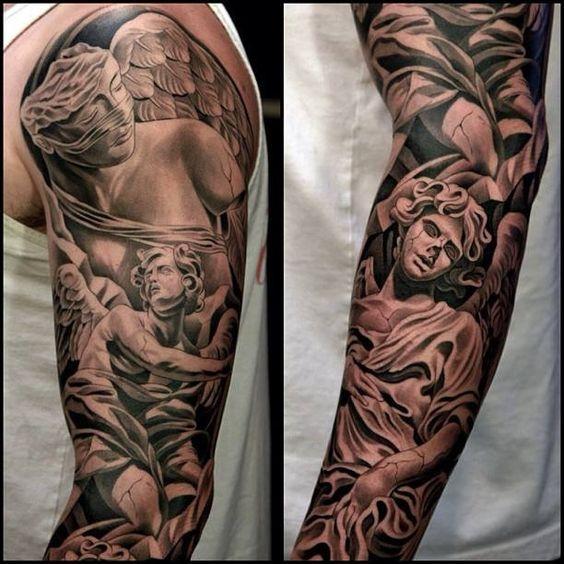 Tatouage Ange Et Demon (7)