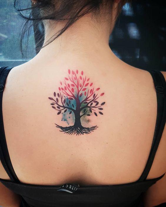 Tatouage Arbre De Vie Femme (1)