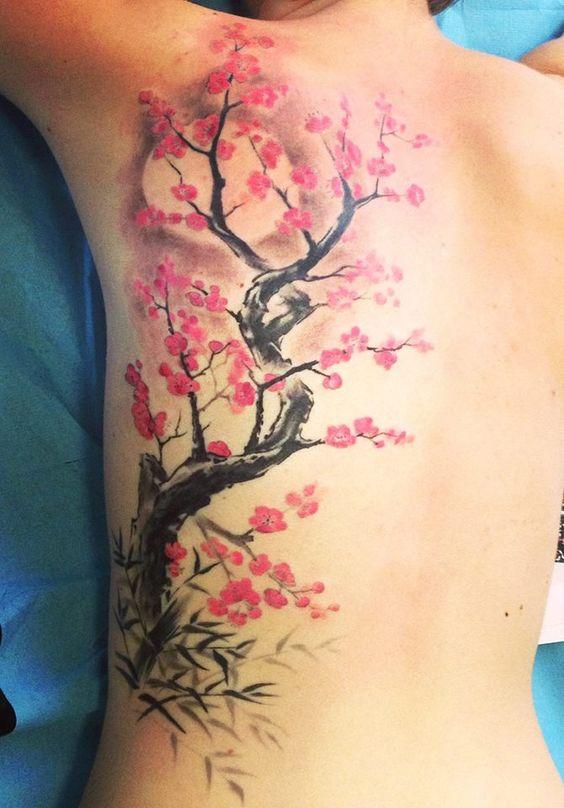 Tatouage Arbre Japonais (2)