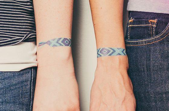 Tatouage Bracelet Femme (7)