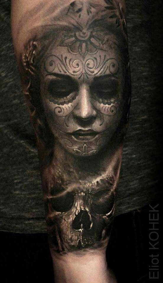 Tatouage Catrina Homme (12)