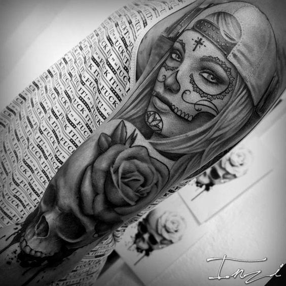 Tatouage Catrina Homme (5)