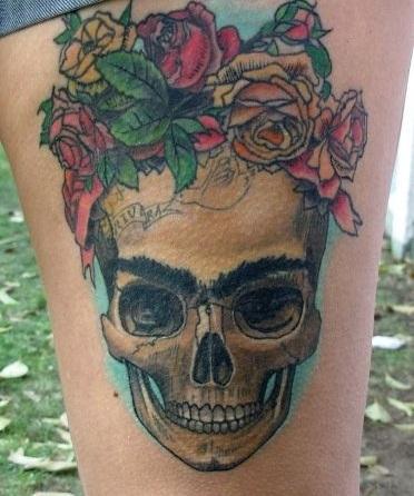 Tatouage Catrina Santa Muerte (5)