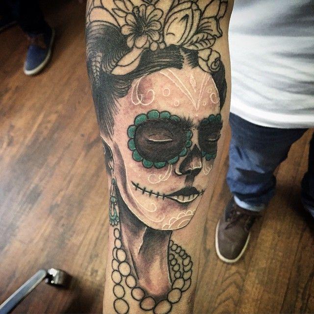 Tatouage Catrina Santa Muerte (7)
