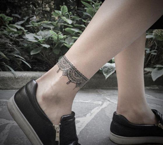 Tatouage Cheville Bracelet (5)