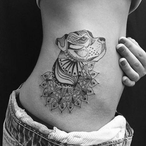 Tatouage Chien Femme (5)