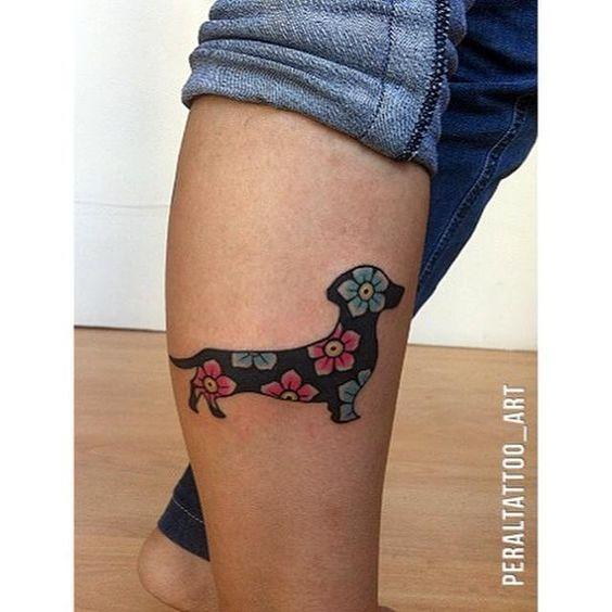 Tatouage Chien Femme (9)