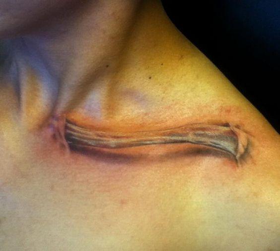 Tatouage Clavicule Homme (1)