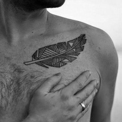 Tatouage Clavicule Homme (3)