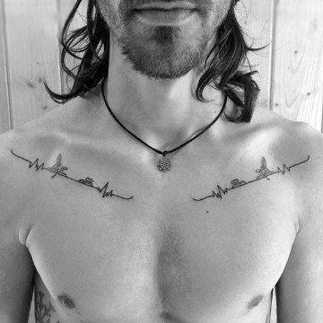 Tatouage Clavicule Homme (5)