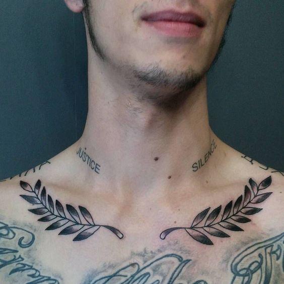 Tatouage Clavicule Homme (9)