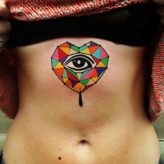 Tatouage Coeur Femme (2)