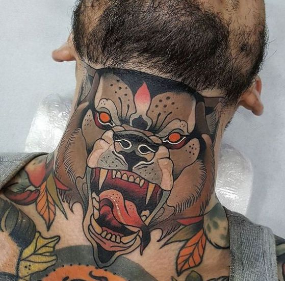 Tatouage Cou Homme (12)