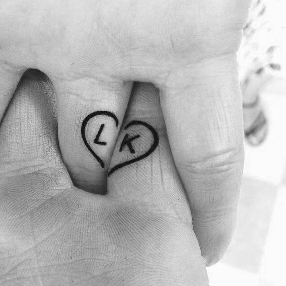 Tatouage Couple Coeur (6)