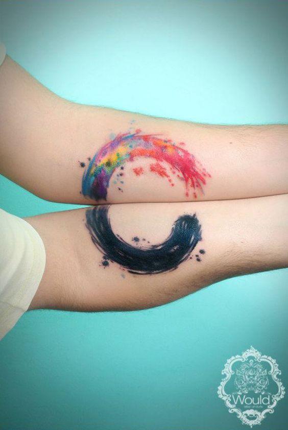 Tatouage Couple Couleurs (5)