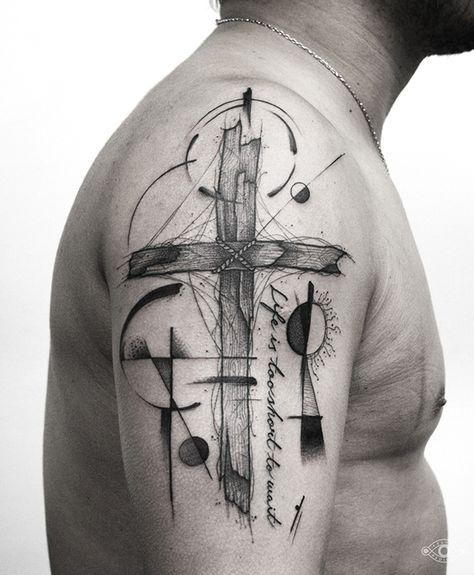Tatouage Crois Christian (2)