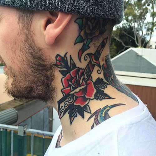 Tatouage Crois Fleur (4)