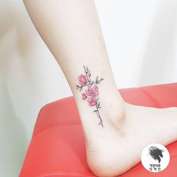Tatouage Crois Fleur (8)