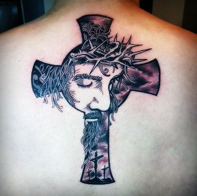 Tatouage Crois Homme (10)