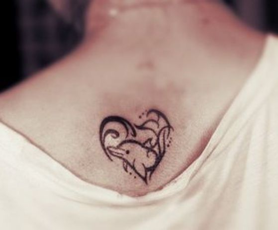 Tatouage Dauphin Simple (3)