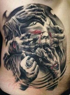 Tatouage Demon (3)