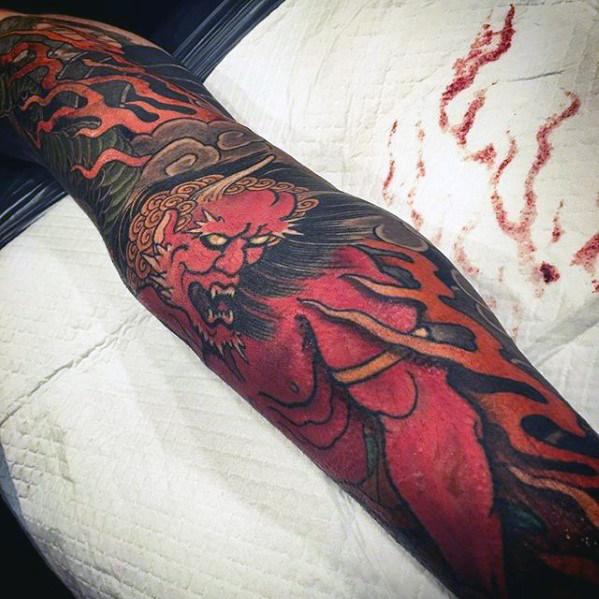 Tatouage Demon Japonais (4)