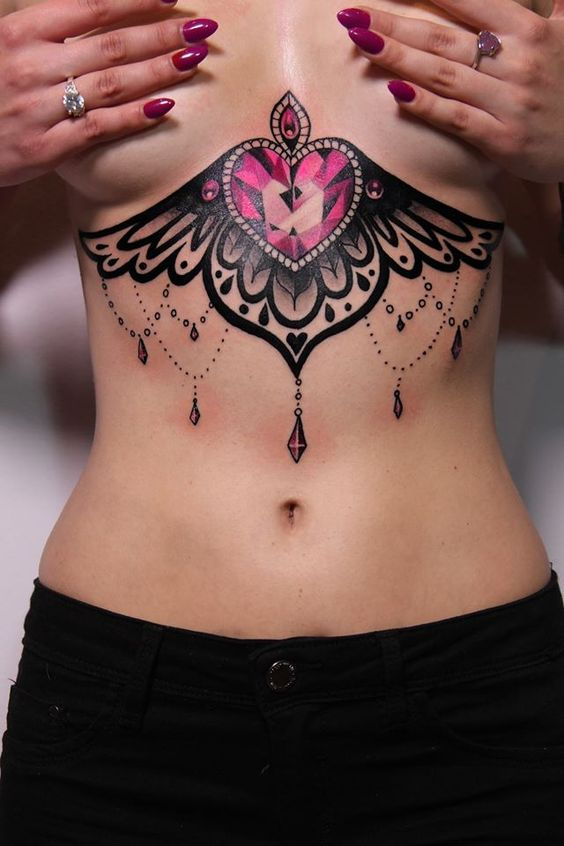 Tatouage Diamant Ailes (4)