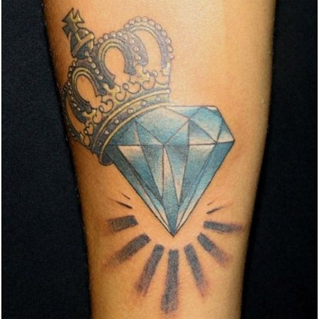 Tatouage Diamant Couronne (3)