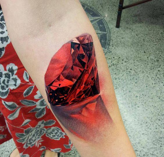 Tatouage Diamant Homme (1)