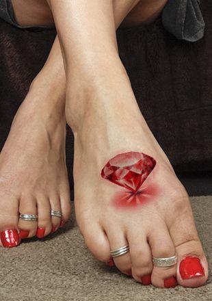 Tatouage Diamant Réaliste (4)