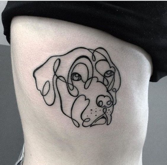 Tatouage Empreinte Chien (4)