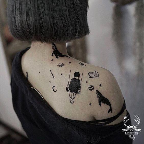 Tatouage épaule Femme (1)