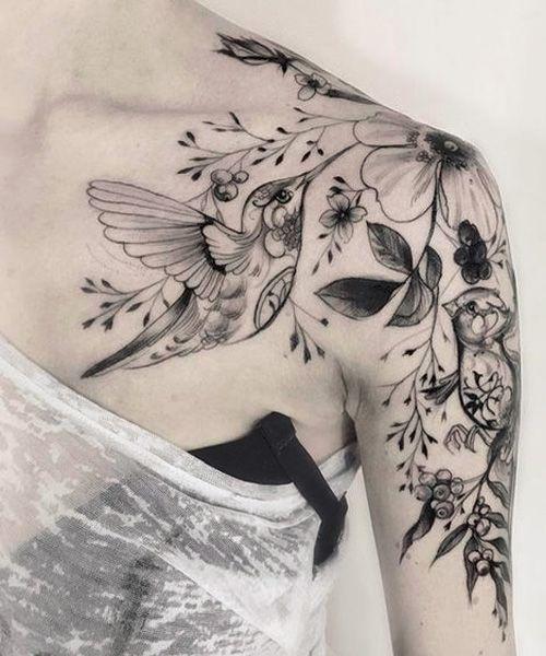 Tatouage épaule Femme (18)