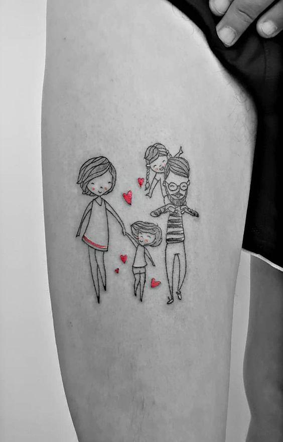 Tatouage Famille Femme (8)