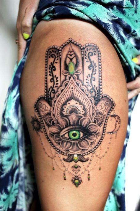 Tatouage Femme Cuisse (2)