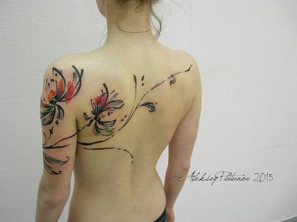 Tatouage Femme Dos (12)