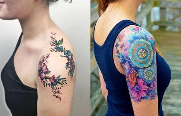 Tatouage Femme Epaule (2)
