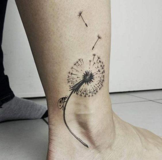 Tatouage Fleur De Pissenlit (6)