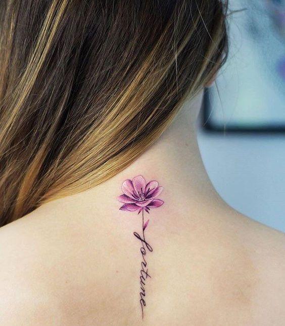 Tatouage Fleurs Noms (4)