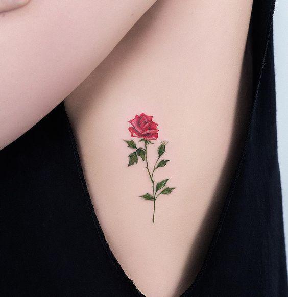 Tatouage Fleurs Petit (5)