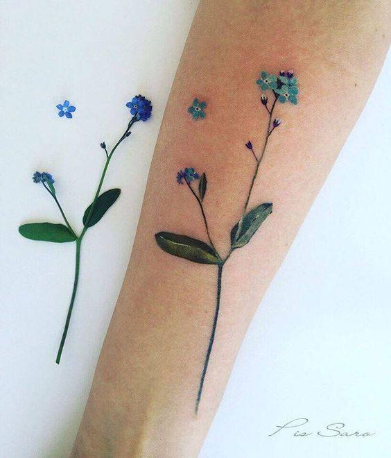 Tatouage Fleurs Petit (8)