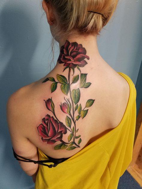 Tatouage Fleurs Retour (2)