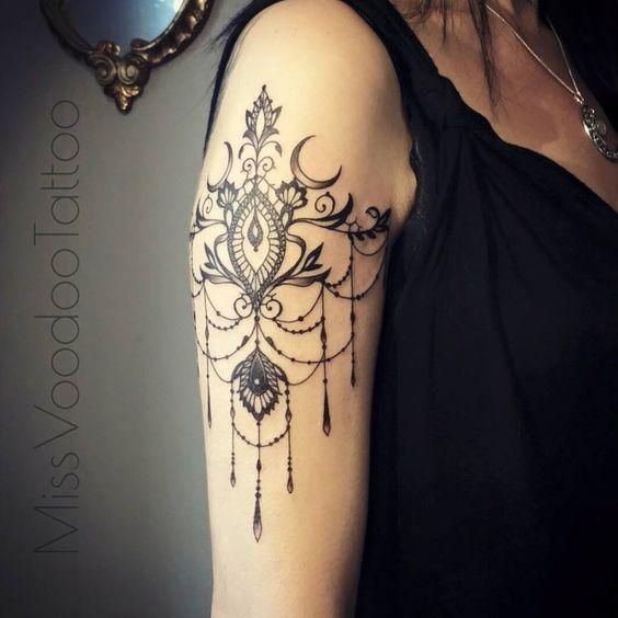 Tatouage Gothiques Femme (13)