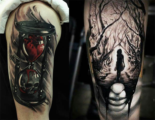 Tatouage Gothiques Homme (1)